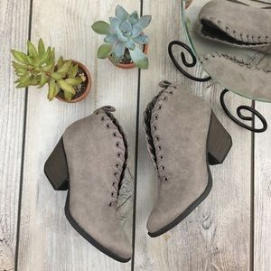 Matisse NWOB Coconuts Bamba Faux Suede Booties